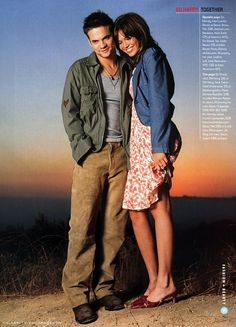 A Walk to Remember - Mandy Moore  Shane West...'twas my favorite movie ;)