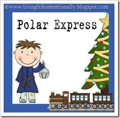{free} Polar Express Mega Pack!    53+ pages of Christmas learning fun for kids 2-8 years old!