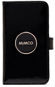 Mimco Flip Case for iPhone 6 in Black and Rose Gold