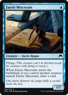 Faerie Miscreant (Core Set - Gatherer - Magic: The Gathering Magic The Gathering Sets, Alternative Art, Collector Cards, Magic Cards, Information Overload, Wizards Of The Coast, Summoning, Deck Of Cards, Control