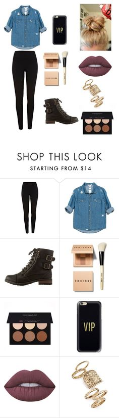 """"""" satisfaction♡"""" by vuenatalie on Polyvore featuring River Island, Sans Souci, Bamboo, Bobbi Brown Cosmetics, Anastasia Beverly Hills, Casetify, Lime Crime and Topshop"""