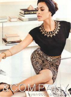 Eva Mendes for NY & Co.