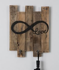 Look what I found on #zulily! Infinity Coat Rack #zulilyfinds