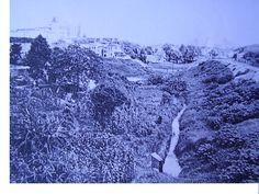 Rio Itororó (atual av 23 de Maio, vista da Rua Pedroso, 1942)