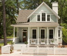 Small farm house plans from the Perfect Little House Company are     Image result for cottage house plans with porch