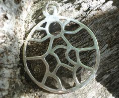 Two Hearts One Soul Sterling Silver Pendant Hand Cast by MaroonedJewelry on Etsy