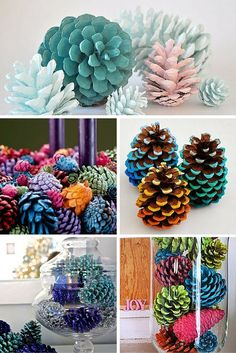 Easy Pine Cone Projects More projekte beton, Building And Installing Diy Concrete Countertops Pine Cone Art, Pine Cone Crafts, Pine Cones, Easy Christmas Crafts, Fall Crafts, Diy And Crafts, Pine Cone Decorations, Christmas Decorations, Wall Decorations