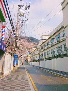 spring in Korea 직접 찍은 사진 South Korea Seoul, South Korea Travel, Fred Instagram, Places To Travel, Places To Go, Beautiful Places, Beautiful World, Japan Street, City Aesthetic