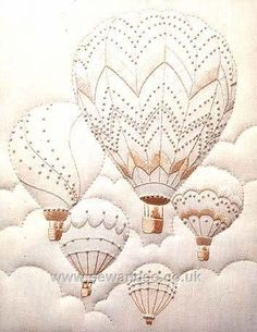 Majestic Balloons. I made this design years ago from a kit
