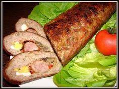 Rulada de carne tocata, Rețetă Petitchef Carne Picada, Pastry Cake, Meatloaf, Cookie Recipes, Food To Make, Bacon, Grilling, Rolls, Pork