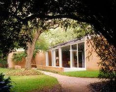 Philip Johnson, John de Menil House, Houston, Texas (1950)/ Филип Джонсон, Дом Джона де Мениль, Хьюстон, Техас.