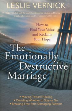 Author and licensed counselor Leslie Vernick offers practical help to women on how to establish healthy boundaries and break free from marital abuse by identifying damaging behaviors, staying safe and responding wisely.