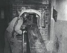 The ovens at Mauthausen Concentration camp. The stories I heard about liberation inspired my novel From Dust and Ashes