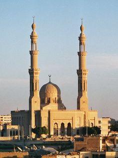 El-Tabia is the mosque in Aswan, Egypt