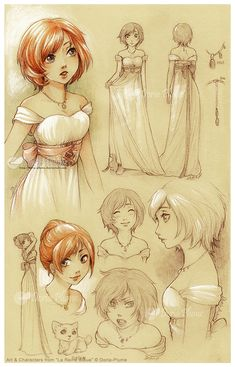 :Caged-Renouveau: Marry's concept and design by Doria-Plume.deviantart.com on @deviantART