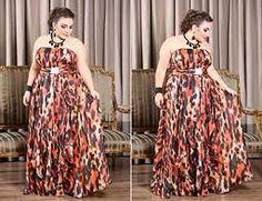 Resultado de imagem para moda feminina PLUS SIZE Moda Feminina Plus Size, Divas, Moda Plus Size, Ideias Fashion, Dresses, Red Carpet, Women's, Long Dresses, Party