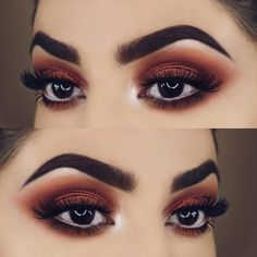 Gorgeous Makeup: Tips and Tricks With Eye Makeup and Eyeshadow – Makeup Design Ideas New Makeup Ideas, Makeup Inspo, Prom Makeup, Wedding Makeup, Wedding Nails, Makeup 2018, Formal Makeup, Maquillage Normal, Makeup Looks For Brown Eyes