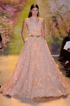 There were plenty of red carpet worthy gowns on the Zuhair Murad couture catwalk: http://uk.bazaar.com/1hOl6K3