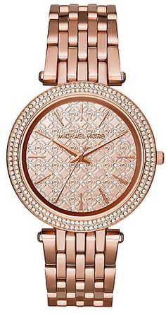 Pin for Later: Make This Year Your Mum's Chicest Yet Michael Kors Darci Ladies' Rose Gold Tone Bracelet Watch Michael Kors Darci Ladies' Rose Gold Tone Bracelet Watch (£195, originally £259)