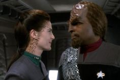Dax & Worf on DS9... am I the only one who had a HUGE crush on Terry Farrell while this show was on?
