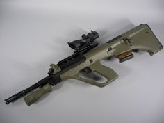 Steyr AUG with ACOG scope