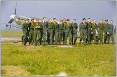 Piloci 303 Dywizjonu. Northolt początek maja 1942