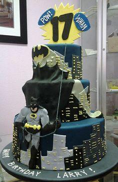 Batman Cake by Angel Contreras, via Flickr