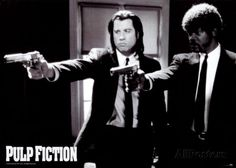 Pulp Fiction Poster su AllPosters.it