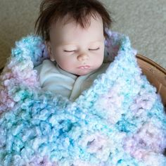 Easy Baby Blankets to Crochet