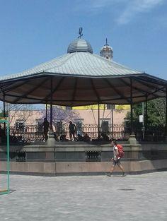 La Alameda Central, fue el primer hogar del Kiosco Morisco, que hoy en día se localiza en la colonia Santa María la Rivera, y que también es un ícono de la ciudad, hoy en día se encuentra un nuevo kiosco, que sigue siendo encuentro de muchos jóvenes.