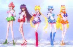 Pretty Guardian in a Sailor Suit Sailor Moon Girls, Sailor Moon Art, Sailor Moon Crystal, Sailor Moon Screencaps, Sailor Moon Wallpaper, Princess Serenity, Moon Princess, Sailor Scouts, Magical Girl