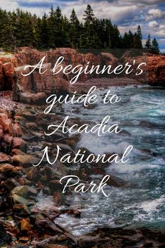 A beginner's guide to Acadia National Park Vacation Destinations, Vacation Trips, Vacation Ideas, Cruise Travel, Travel Usa, Arcadia National Park, Oh The Places You'll Go, Places To Visit, Acadia Maine