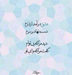 مولانا=عشق
