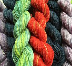 Yarn Dyeing Workshop July 2016 by LittleLancashire Workshop, Wool, Atelier