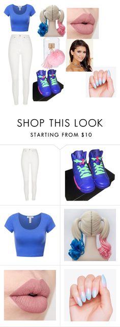 """""""my type of harley quinn"""" by d-baby23 on Polyvore featuring River Island, NIKE and Ashlyn'd"""