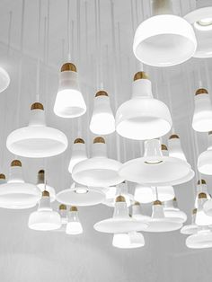 From 2D to 3D - white cloud | lighting . Beleuchtung . luminaires | Design: Dan Yeffet and Lucie Koldova | Brokis |