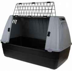Переноска пластиковая на колесах с ручкой. Размер: 78*53*72 Cage, Unique, Dog Transport, Pet Store, Human Height