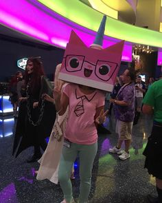 Call me crazy, but Unikitty was my favorite costume @DragonCon.