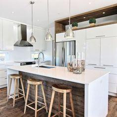 Une cuisine à saveur scandinave - Cuisine - Inspirations - Décoration et rénovation - Pratico Pratique http://amzn.to/2qVhL6r