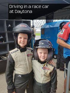 Be a race car passenger at Daytona
