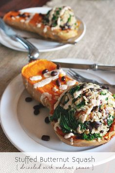 Stuffed butternut squash, Butternut squash and Couscous on Pinterest