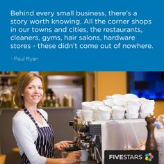 15 Inspiring Small Business Quotes to Start Your Day Right - @FiveStars Blog #smallbusiness