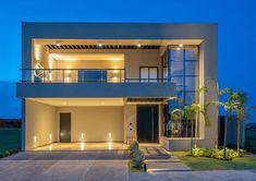 Modern Exterior House Designs, Best Modern House Design, Dream House Exterior, Modern Architecture House, 3d House Plans, House Plans Mansion, Modern House Plans, Dream House Plans, Two Story House Design