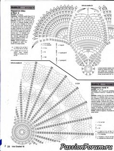 Irish lace, crochet, crochet patterns, clothing and decorations for the house, crocheted. Crochet Doily Diagram, Crochet Flower Patterns, Crochet Stitches Patterns, Crochet Motif, Irish Crochet, Crochet Shawl, Crochet Doilies, Crochet Flowers, Knitting Patterns