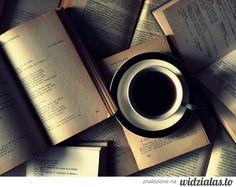 kawa i książki - moje 2 miłości :)