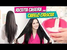 RECEITA CASEIRA PARA O CABELO CRESCER MAIS RÁPIDO!!! por Julia Doorman - YouTube