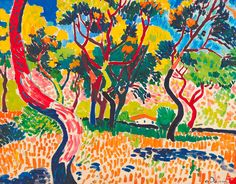 Trees at Colliere 1905