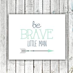 Baby Boy Art Nursery Printable Wall Art Be by ZoomBooneCreations