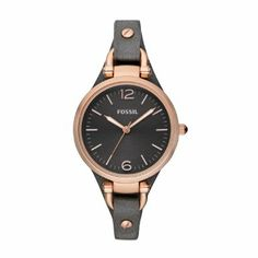 Fossil Damen-Armbanduhr XS Ladies Dress Analog Leder ES3077: Amazon.de: Uhren