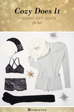 Stocking stuffers to cozy pajamas, the ultimate gift guide for women is here!   Fabletics